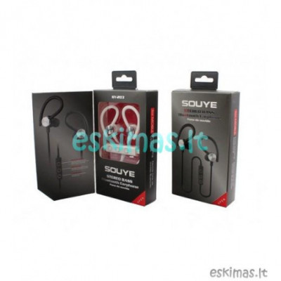 Bluetooth ausinukai Sportui SY-203