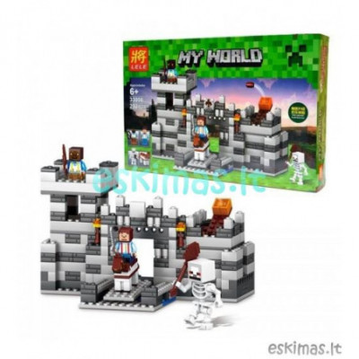Lego Minecraft - Tvirtovė [analogas]