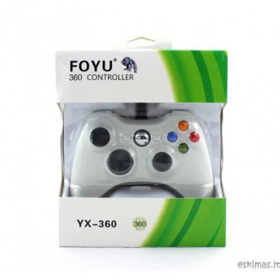 Xbox 360 ir PC žaidimų valdymo pultelis