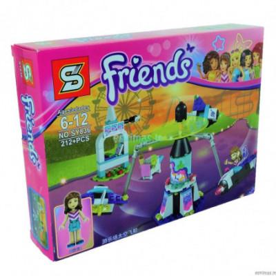 Lego Friends - Karuselė [analogas]