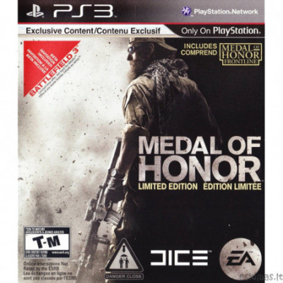 PS3 Medal of Honor [Limited Edition]