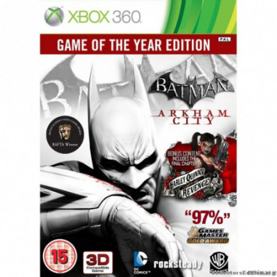 XBOX 360 Batman Arkham City [GOTY]