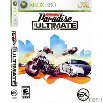 XBOX 360 Burnout Paradise The Ultimate Box