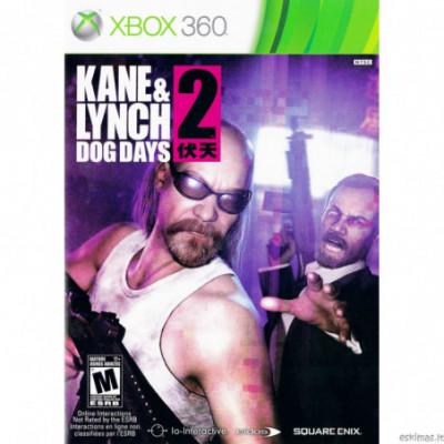XBOX 360 Kane & Lynch 2 Dog Days