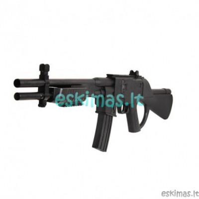 Žaislinis, pneumatinis šautuvas šaudantis 6mm šratukais.