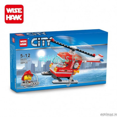 Lego City - Gaisrinės malūnsparnis [analogas]