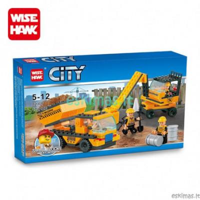 Lego City - Statybinė technika [analogas]