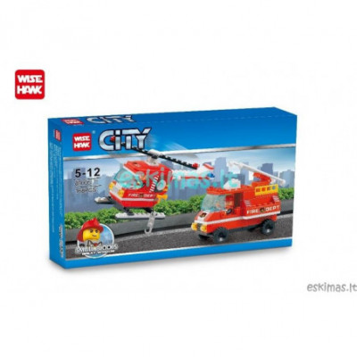 Lego City - Gaisrinės technika [analogas]