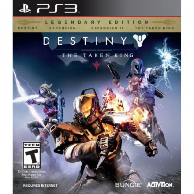 PS4 The Destiny The Taken King Legendary Edition