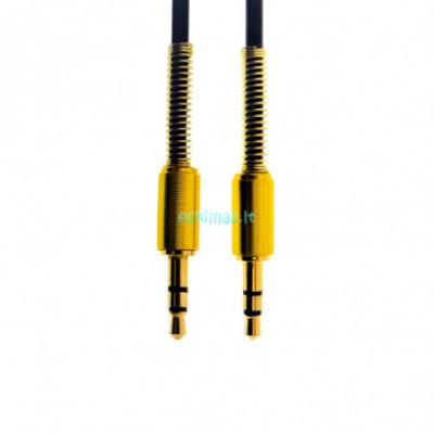 AUX kabelis / laidas1m (Juodas), 3.5mm