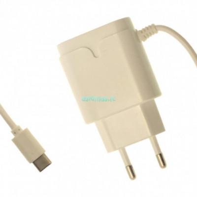 Įkroviklis USB Type C su papildoma usb jungtimi