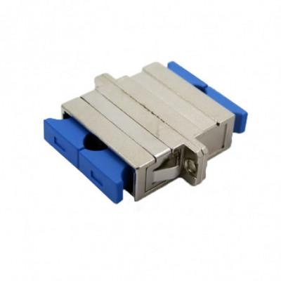 SC SM duplex adapter square flange Metal