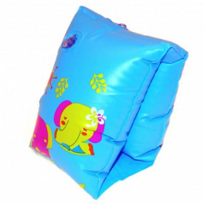 Pripučiamos rankovės drambliukai mėlyna plaukiojimui vaikams