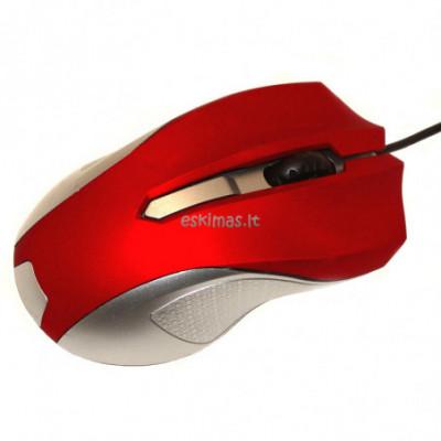 Laidinė pelė kompiuteriui Gelanshi raudona