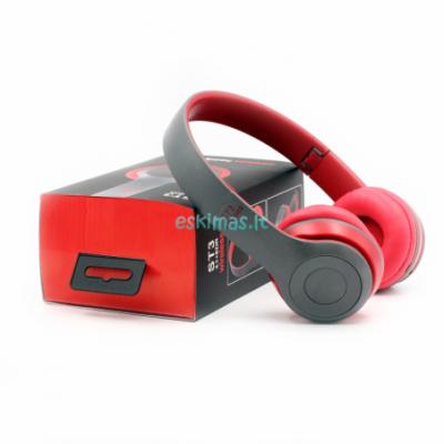 Ausinės bluetooth ST3 raudonos