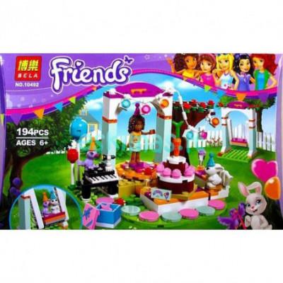 Lego Friends - gimtadienis [analogas]