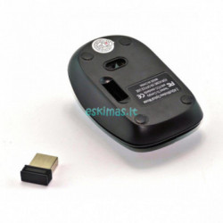 Belaidė klaviatūra su pele Mini Keyboard juoda
