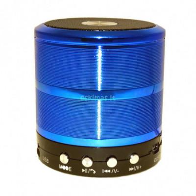 Kolonėlė Bluetooth WSTER WS-887 mėlyna