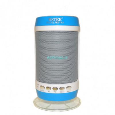 Kolonėlė Bluetooth WSTER WS-1806 mėlyna