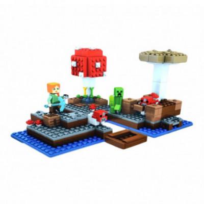 Lego Minecraft - Grybų sala [analogas]