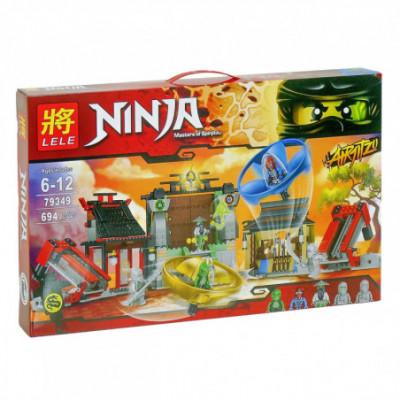 Lego Ninjago - Nindzių tvirtovė [analogas]