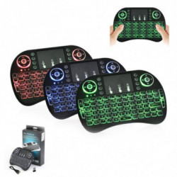 Belaidė mini klaviatūra su TouchPad
