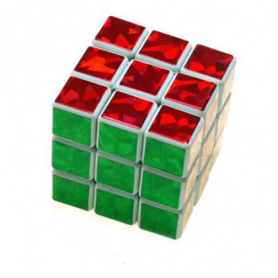 Rubiko kubas 4cm 3x3 blizgantis