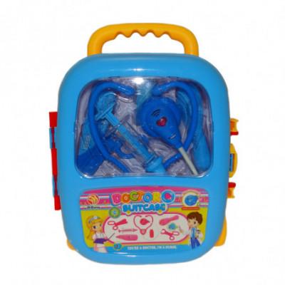 Daktaro lagaminas mėlynas