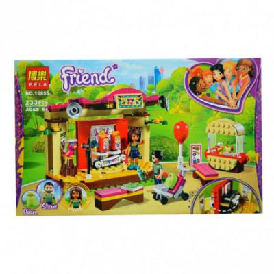 BELA Friend - Lauko teatras su dešrainių kioskeliu - Lego Friends [analogas]