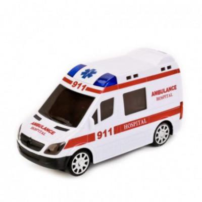 Žaislinis greitosios pagalbos furgonėlis