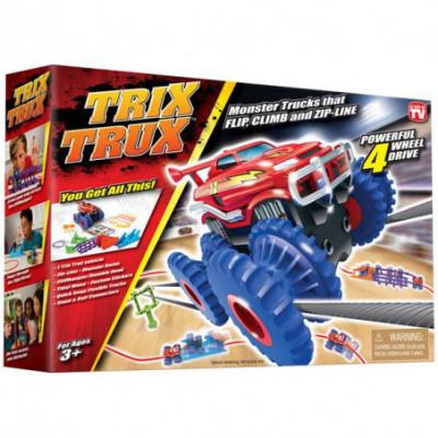 Trix Trux trasa su viena mašinėle