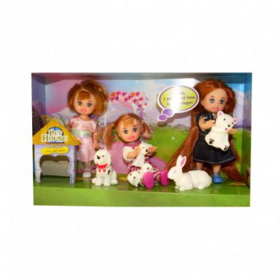 Mini lėlių komplektas Happy Sairy Style