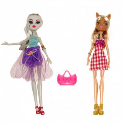 Monster High 2 lėlių rinkinys Vilkė su Vampyre