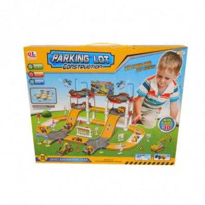 Žaislinė trasa Parking Lot Construction