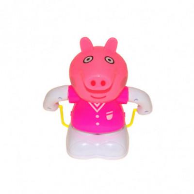 Žaislinis šokinėjantis robotas Peppa rožinė