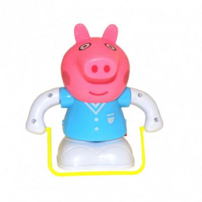 Žaislinis šokinėjantis robotas Peppa mėlyna