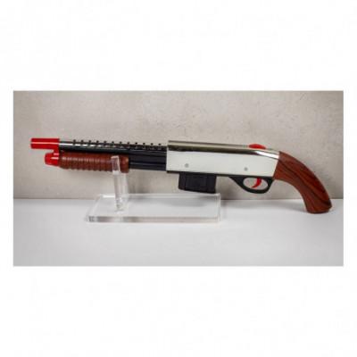 Žaislinis ginklas šaudantis minkštomis kulkomis 4in1