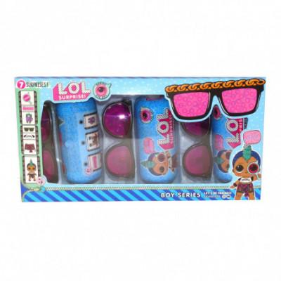 LOL Surprise boys 3 kapsulių + 3 akinių rinkinys [analogas]