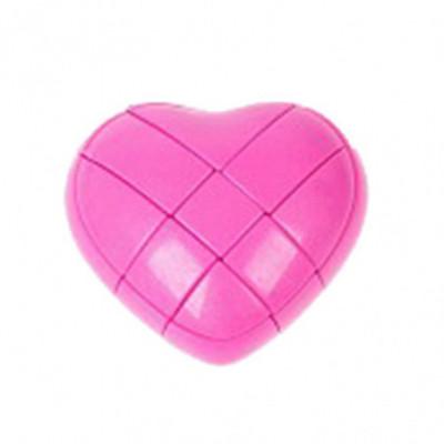 Rubiko stiliaus galvosūkis Širdis rožinė