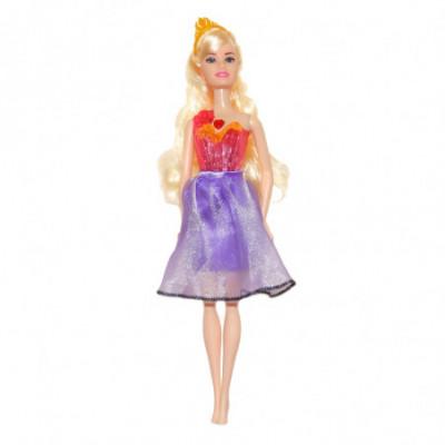 Lėlė Beauty Endless Hair Kingdom violetinė