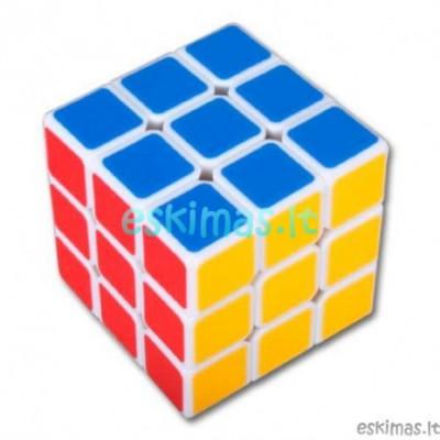 Rubiko kubas 3cm 3x3 baltas