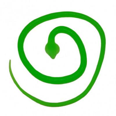 Maža guminė gyvatėlė žalia