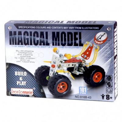 Metalinis detalių rinkinys Magical Model