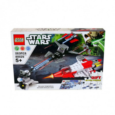 QS08 Stars Wars - Įvairūs naikintuvai - Lego Star Wars analogas