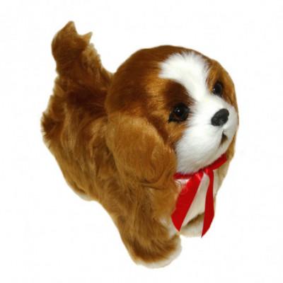 Interaktyvus šuniukas - Spanielis, vaikšto ir loja