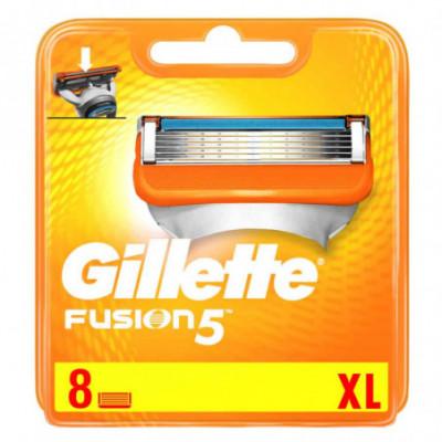Gillette Fusion skutimosi peiliukai 8 vnt rinkinys
