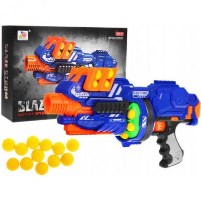 Nerf stiliaus - Blaze Storm ginklas su 12 kulkų