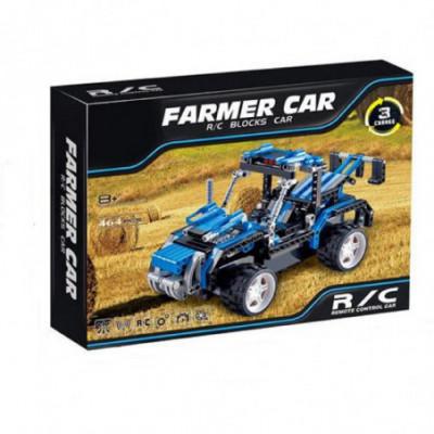Lego Technic – konstruok Fermerio mašiną ir valdyk ją Radijo Bangomis!