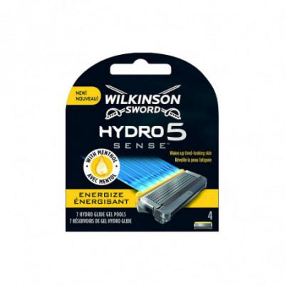 Wilkinson Sword Hydro 5 Sense Energize peiliukai 4 vnt. rinkinys