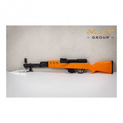 Vaikiškas, plastikinis ginklas šaudantis kulkomis (Airsoft)